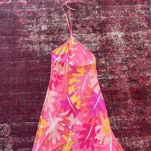 SOLD! Vintage Pucci halter dress
